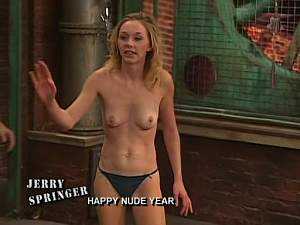 Jerry springer nude guests pics