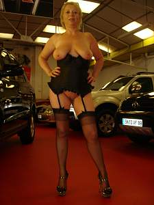 Awesome tits 6 wife hangs out in the Garage!~.jpg