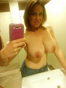 Awesome tits 39 wife hangs out in Rest rooms!.jpg