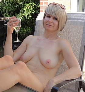 Awesome tits 54 wife is Natural while drinking!.jpg