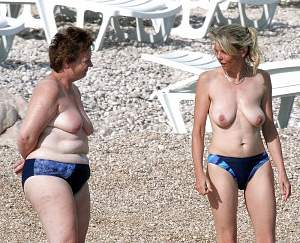 Awesome tits 11 the Family picked Blue Bikini's for vacation!~.jpg