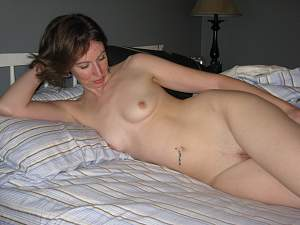Awesome tits 258 wife gets a bit Casual in bed!.jpg