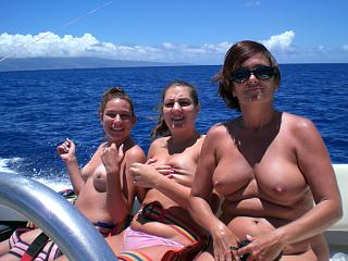 Naughty Mom 133 boating with Daughters.jpg