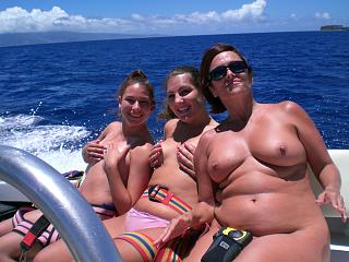 Naughty Mom 167 boating with her Daughters.jpg