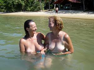 Beauty has her Mom go Topless too!.jpg