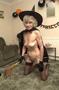 Unusual for Granny to show her Halloween outfit!.jpg