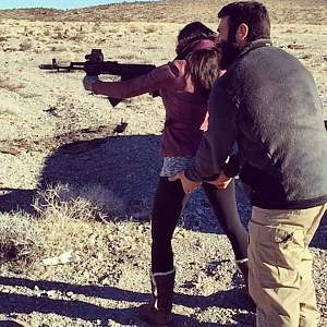 Unusual to help the wife while Shooting!.jpg